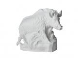 Wild Boar Big Pig Lomonosov Porcelain Figurine