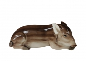 Wild Boar Little Pig Lomonosov Porcelain Figurine