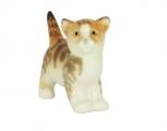Kitten Cat Striped Red Lomonosov Imperial Porcelain Figurine