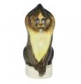 "Lomonosov Imperial Porcelain Figurine Mandrill Monkey 6.8"""