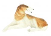 Imperial Porcelain Russian Borzoi Greyhound Wolfhound Dog