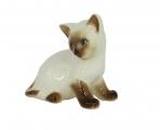 Kitten Cat Siamese Lomonosov Imperial Porcelain Figurine