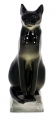 Cat Egyptian Lomonosov Imperial Porcelain Figurine