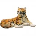 Imperial Porcelain Lying Tiger