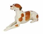 Red Pointer Dog Lomonosov Imperial Porcelain Figurine