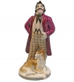 Lomonosov Porcelain Figurine Gogol Dead Souls NOZDRYOV