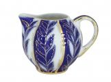 Lomonosov Imperial Porcelain Creamer Tulip Winter Night 11.8 fl.oz/350 ml