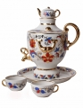 Lomonosov Imperial Porcelain Wine Decanter Set Samovar 30.4 oz/900 ml