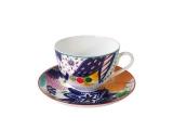 Imperial Porcelain Lomonosov Porcelain Spring-2 Bone China Tea Set 2 pc Yulia