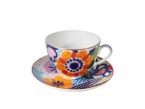 Lomonosov Lomonosov Porcelain Spring-2 Bone China Tea Set 2 pc Anya