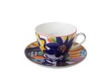 Lomonosov Porcelain Lomonosov Porcelain Spring-2 Bone China Tea Set 2 pc Masha