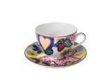 Imperial Porcelain Lomonosov Porcelain Spring-2 Bone China Tea Set 2 pc Tanya