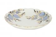 "Lomonosov Imperial Porcelain Cake Сookie Biscuit Pastry Dish Moonlight 8.5"""