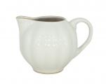 Lomonosov Imperial Porcelain Creamer Tulip Snow White 18.8 fl.oz/555 ml