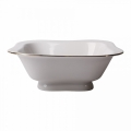 Lomonosov Porcelain Lomonosov Porcelain Golden Ribbon Salad Bowl (6 serv.) 50.7 fl.oz/1500 ml