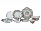 Lomonosov Porcelain Dining Set 6/24 Service European Antique