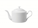 Lomonosov Porcelain Tea Pot Premium White 40.6 fl.oz/1200 ml