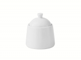 Lomonosov Porcelain Sugar Bowl Optima White 8.5 fl.oz/250 ml