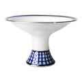 "Lomonosov Imperial Porcelain Candy Vase Classic of Petersburg 7.3"" D"