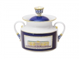 Lomonosov Imperial Porcelaine Sugar Bowl Classic of Petersburg 18.3 oz/540 ml