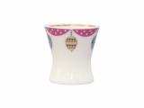 Easter Egg Porcelain Holder Cup Amethyst
