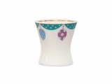 Easter Egg Porcelain Holder Cup Emerald