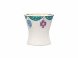 Easter Egg Porcelain Holder Cup Emerald