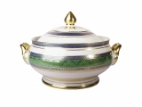 Porcelain Soup Bowl Tureen Alexandria Golden 52 101.4 oz/3000 ml