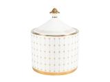 Lomonosov Porcelain Sugar Bowl Azur Golden