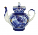Lomonosov Imperial Porcelain Teapot Bud Goldfinch 3 Cup 20 oz/600 ml