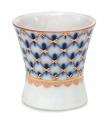 Lomonosov Porcelain Cobalt Net Egg Holder Cup