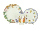 Lomonosv Imperial Porcelain Bone China Cup and Saucer May Ballet Scheherazade 5.6 fl.oz/165 ml 3 pc