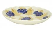 "Lomonosov Imperial Porcelain Cake Сookie Biscuit Pastry Dish Golden Garden 8.5"""