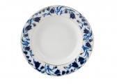 Lomonosov Imperial Porcelain Blue Bells 7-inch Dessert Plate