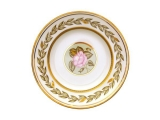 "Porcelain Smooth Plate Jade Background 7.1""/180 mm"