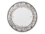 """Lomonosov Imperial Porcelaine Dinner Plate Cake Platter European-2 Russian Modern 12.6""""/320 mm"""