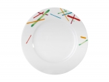 """Lomonosov Porcelain Cake Dessert Plate Game 7.5""""/190 mm"""