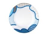 """Lomonosov Porcelain Cake Dessert Plate Motive 7.5""""/190 mm"""