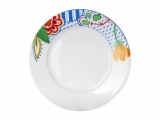 """Lomonosov Porcelain Dinner Flat Plate Flowers 10.4""""/265 mm"""