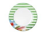 """Lomonosov Porcelain Cake Dessert Plate Flowers 7.5""""/190 mm"""