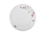 """Lomonosov Porcelain Dinner Plate Flowering Sweet Pea 10.6""""/270 mm"""