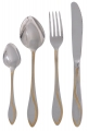 Flatware Stainless Steel Cutlery Set for 6 Wave