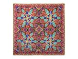 "Lomonosov Russian Gift Set 100% Silk Scarf 35x35"" Gothic Style #6"